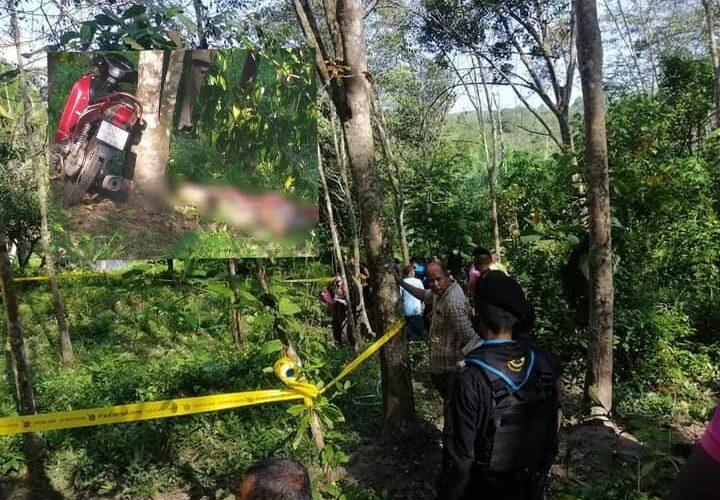 พบศพหนุ่มวัย 33 ปี ผูกคอกับต้นไม้ในสวนยางที่รามัน
