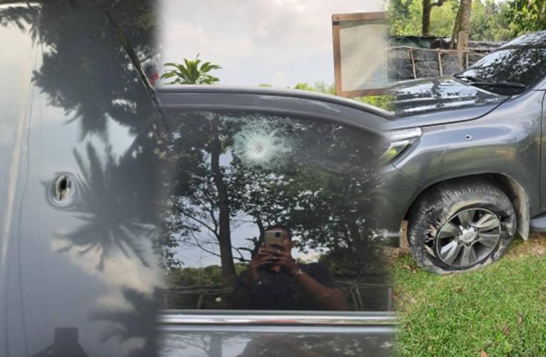 ด่วน คนร้ายซุ่มยิงถล่มรถรองผู้การตำรวจ นราธิวาส